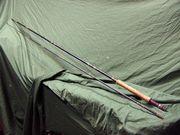 Fliegenrute Angler Forelle