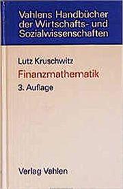 Finanzmathematik: Lehrbuch der