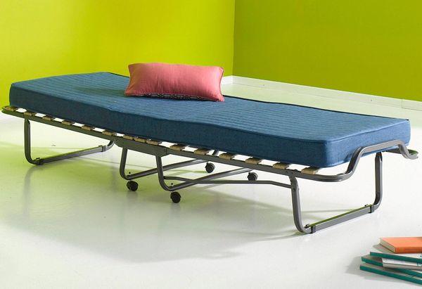 Neu 80x200 Klappbett Gastebett Klappbar Gasteliege Raumspar Bett In