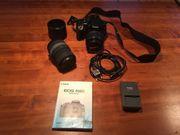 Canon EOS 400D mit 2