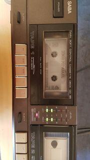 Doppelkassettendeck SABA Twin CD 95