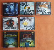 7 Hörbücher Krimisammlung Lars Kepler