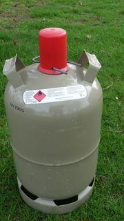 Camping-Gasflasche 11kg Propanflasche gebraucht mit