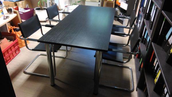 Büro-Tisch mit 4 Stühlen (TOPTEC) in Lauta - Büromöbel kaufen und ...