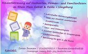 Kinderbetreuung auf Hochzeiten und Events