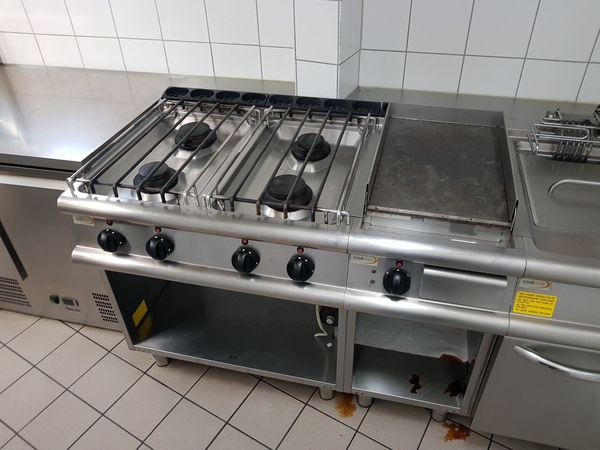 Elektro Grillplatte Gas Herd Cookmax In Reinheim Gastronomie