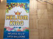 latex balloons flaten