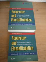 Kfz-Betrieb Vogelverlag Reparatur und Einstellwerte