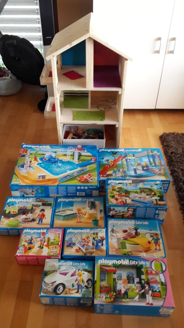 Playmobil haus mit zubeh r usw oder einzeln in dornbirn spielzeug lego playmobil kaufen und - Playmobil haus schlafzimmer ...