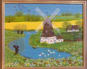 Gemälde Naive Malerei