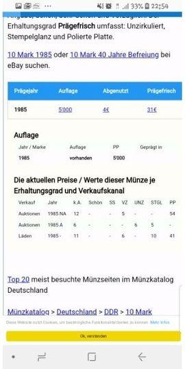 Münzen In Reisdorf Günstig Kaufen Quokade