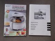 Gourmet Maxx Vital Heissluft-Fritteuse