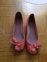 Peeptoe Ballerinas Größe 38