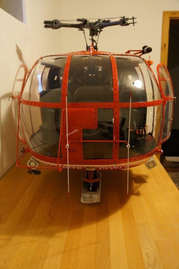 Full-Scale Vario Big Alouette für