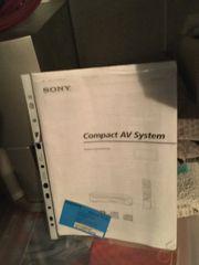 Sony Dolby Surroundsystem