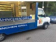 Hähnchen und Burgergrillwagen