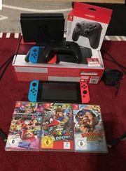 Nintendo Switch inkl 3 Spielen