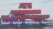 Ankauf von Fahrzeugen