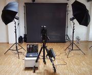 Professionelle Fotostudio