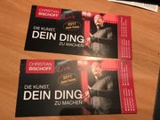 2 Goldtickets für Christian Bischoff