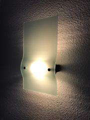 sehr schicke Designerlampe für die