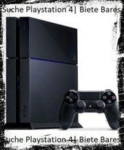 SUCHE Playstation 4 gegen Bares
