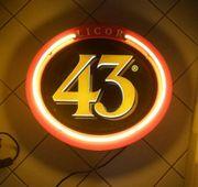 Leuchtreklame Licor 43