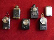 Alte Taschenlampen