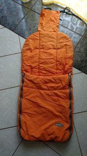 Fußsack Orange von