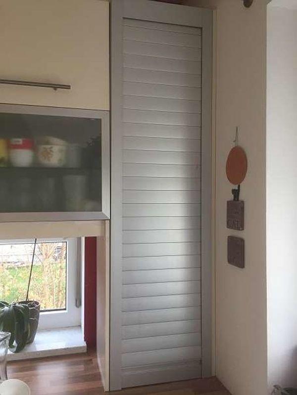 Küche IKEA Faktum Rollo Schrank grau in Kaltbuch - Küchenmöbel ...