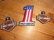 Harley Davidson Schlüsselanhänger ZWEI STÜCK
