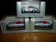 3 Modellautos aus Mercedes-Benz Classic-Collection