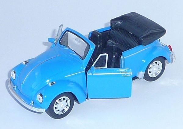 VW Käfer Cabriolet Modellauto; **NEU** und OVP ! - Essen Huttrop - Biete aus Sammlungsauflösung neues unbespieltes, sehr detailgetreues Modellauto des legendären Käfer Cabriolet, im Maßstab 1:32.Farbe hellblau, bewegliche TürenDas Modell ist neu, sehr selten und unbespielt.Die originale Verpackung wu - Essen Huttrop