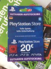 20 PlayStation Karte