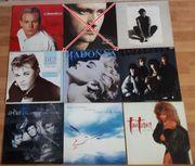 Schallplatten Sammlung Rock Pop 25