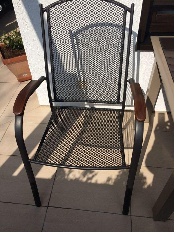Drei Balkonstühle mit Auflagen in Karlsruhe - Gartenmöbel kaufen und ...