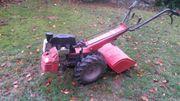 Gartenfräse Einachser Motorhacke Schneeschieber