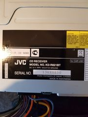 Autoradio JVC CD - Receiver