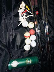 Golf Set komplett inkl Golftasche