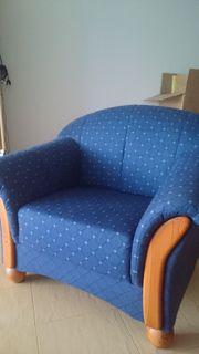 1 Sessel - blau/