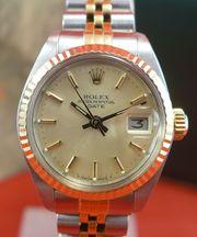 Original Rolex Date Damen Uhr
