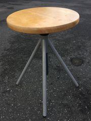 Drehstuhl Holz sitzen Sitzstuhl höhenverstellbar