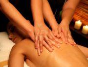 4 hand b2b Massage
