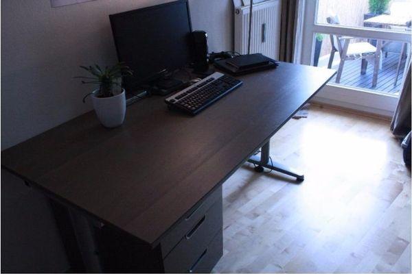 Schreibtisch & Schubladenelement 160x80 » Büromöbel