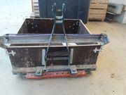 Heckcontainer Transportpritsche