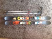 K2 Kindertrickski mit Stöcken