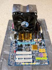 CPU Mainboard Arbeitsspeicher und Kühler
