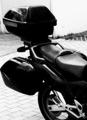 Motorrad Selbsfahrerin oder