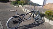 custom cruiser chopper bike