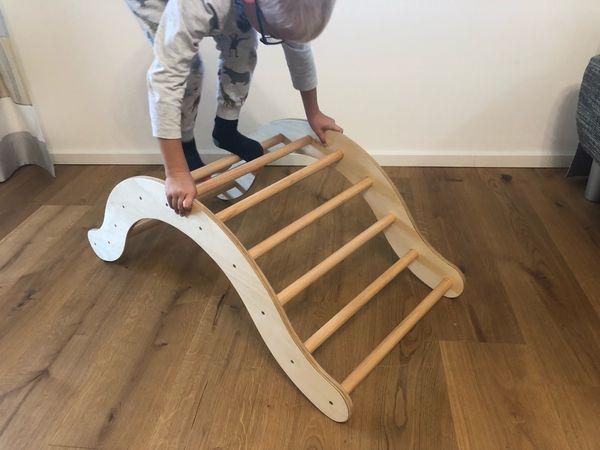 Kletterbogen Garten Kinder : Kletterbogen bogenleiter nach pikler in passau holzspielzeug